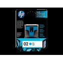 CARTUCHO HP 02 CIAN PARA PSMART 8250 4ML