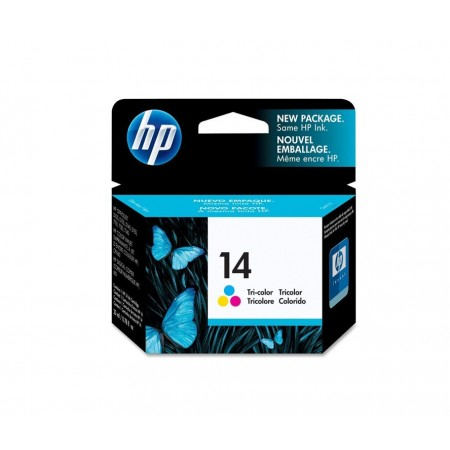 CARTUCHO HP 14 TRICOLOR (C5010D)P/OFFICEJET D SERIES 1600 23ML
