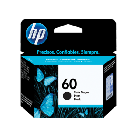 CARTUCHO HP 60 NEGRO F2480/F4280/D1660/D2660 4ML
