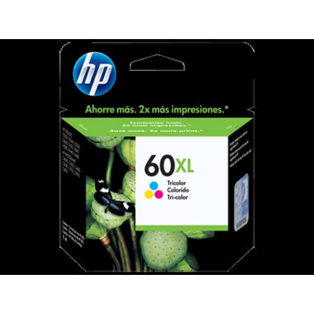 CARTUCHO HP 60XL TRICOLOR (ALTO RENDIMIENTO) PARA IMPRESORA F4280 11ML