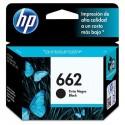 CARTUCHO HP 662 - PRINT CARTRIDGE - 1 X PIGMENTED BLACK - 120 PAGES DESKJET INK ADVANTAGE 2515 DJ 35153545 2545