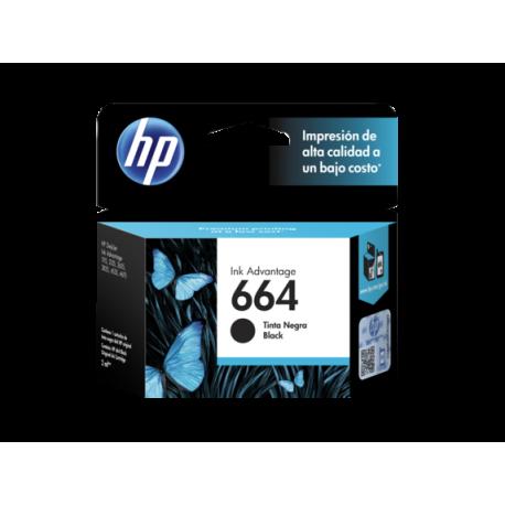 CARTUCHO HP 664 BLACK INK CARTRIDGE PARA IMPRESORAS INK ADVANTAGE 2135363545353835 1115