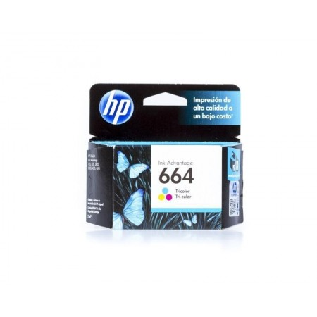 CARTUCHO HP 664 TRICOLOR INK CARTRIDGE PARA IMPRESORAS INK ADVANTAGE 2135363545353835 1115
