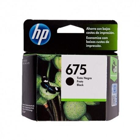 CARTUCHO HP 675 - PRINT CARTRIDGE - 1 X BLACK - FOR OFFICEJET 40004400 4575