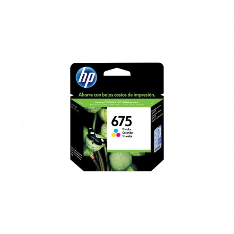 CARTUCHO HP 675 - PRINT CARTRIDGE - 1 X COLOR (CYAN MAGENTA YELLOW) - FOR OFFICEJET 40004400 4575