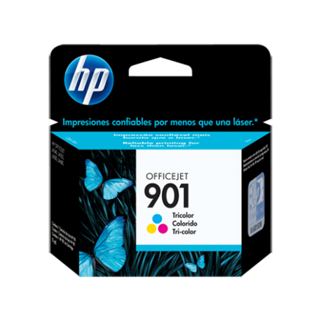 CARTUCHO HP 901 TRICOL INK CART PARA OFFICEJET J4524 / J4580 / J4624 / J4660 / J6480 9ML
