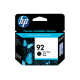 CARTUCHO HP 92 NEGRO C9362W PSC 1510/5440/C3180 5 M