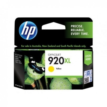 CARTUCHO HP 920XL AMARILLO HIGH CAPACITY OFFICEJET INK CARTRIDGE COMPATIBLE CON OFFICEJET 6000 6500A Y 7500A 6ML