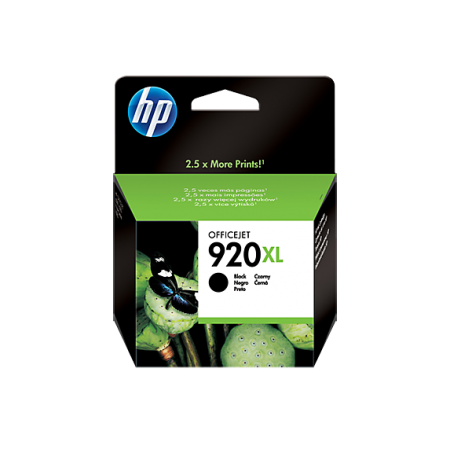 CARTUCHO HP 920XL NEGRO COMPATIBLE CON OFFICEJET 6000 6500A Y 7500A 49ML