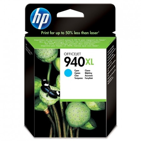 CARTUCHO HP 940XL - PRINT CARTRIDGE - 1 X CYAN - FOR OFFICEJET PRO 80008500 8500A
