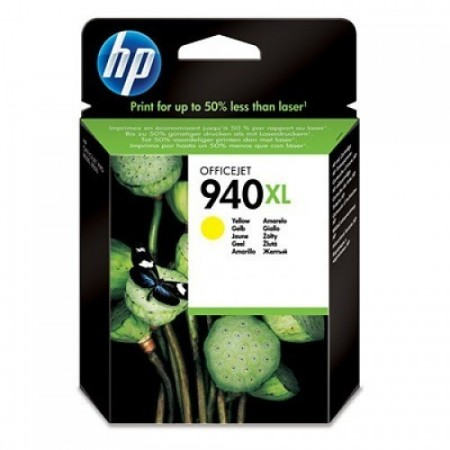CARTUCHO HP 940XL - PRINT CARTRIDGE - 1 X YELLOW - FOR OFFICEJET PRO 80008500 8500A