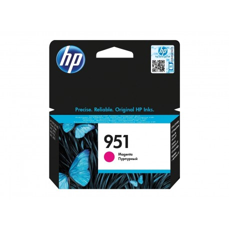 CARTUCHO HP 951 - PRINT CARTRIDGE - 1 X PIGMENTED MAGENTA HP BUSINESS INKJET AND OFFICEJET PRO PRINTERS8100 - N811AHP MULTIFUNC
