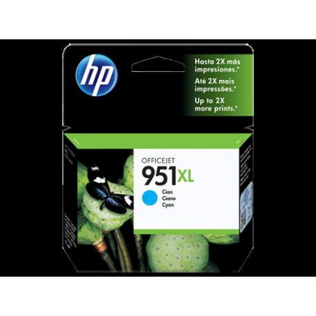 CARTUCHO HP 951XL - PRINT CARTRIDGE - 1 X PIGMENTED CYAN ALTO RENDIMIENTO HP BUSINESS INKJET AND OFFICEJET PRO PRINTERS8100 - N
