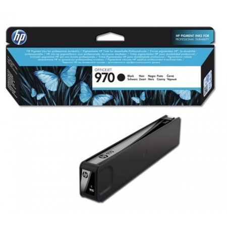 CARTUCHO HP 970 BLACK ORIGINAL INK CARTRIDGE FOR PRINTER OFFICEJET PRO X476DW X576DW X451DW