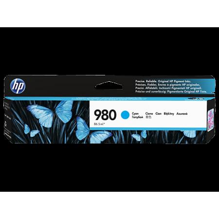 CARTUCHO HP 980 CYAN D8J07A RINDE 6600 PAGINAS COMPATIBLE CON IMPRESORAS X555 Y X585